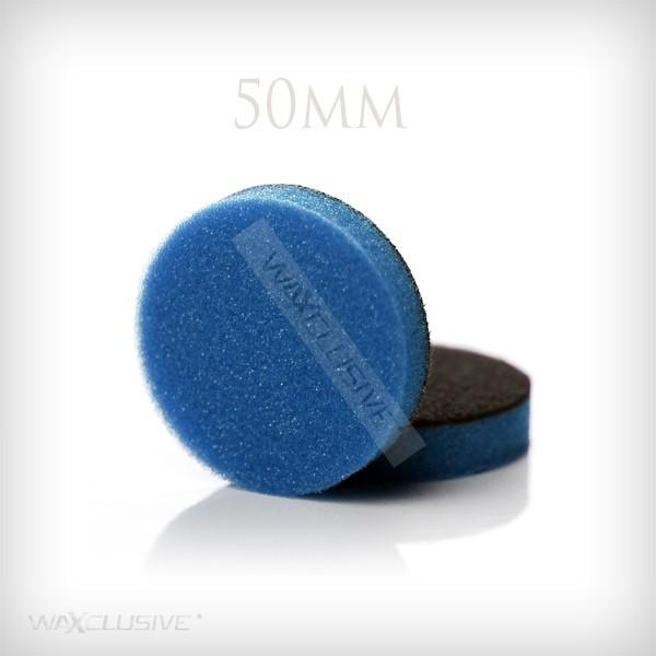50mm gąbka polerska niebieska