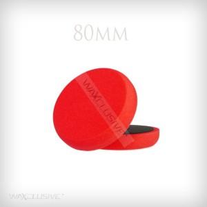 80mm Gąbka Polerska Czerwona