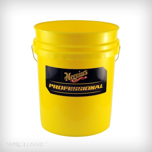 Meguiars Professional Wash Bucket Yellow