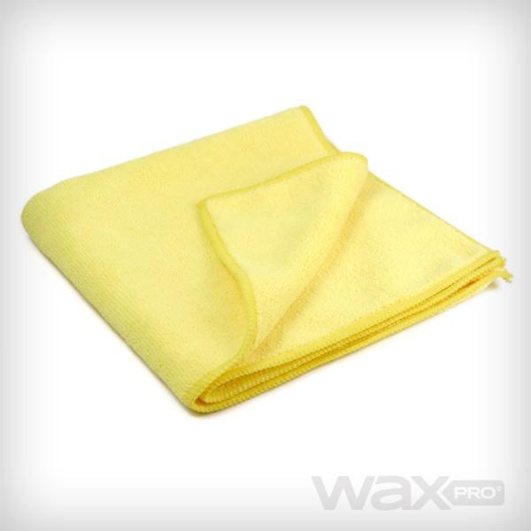 waxPRO Yellow Microfiber 40x40