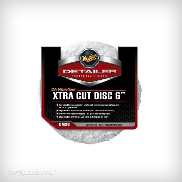Meguiars 140mm DA Microfiber Xtra Cut Disc 1szt.