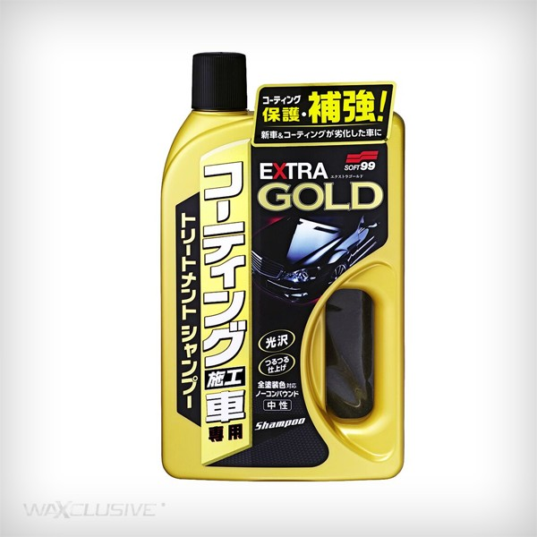 SOFT99 EXTRA GOLD SHAMPOO 750ml