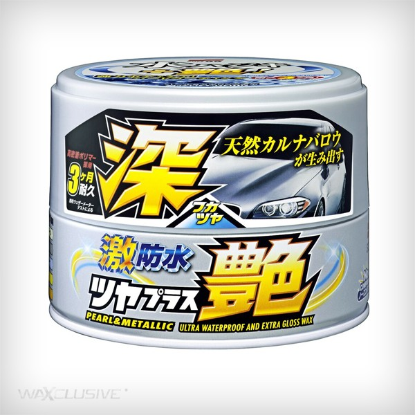 SOFT99 WATER BLOCK WAX GLOSS TYPE PEARL & METALLIC 200G