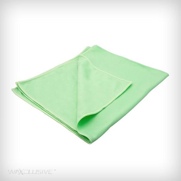 GLASS CARE 55 X 63 CM GREEN TOWEL
