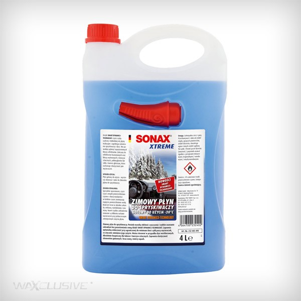 Sonax XTREME Zimowy Płyn do spryskiwaczy NanoPRO 4L