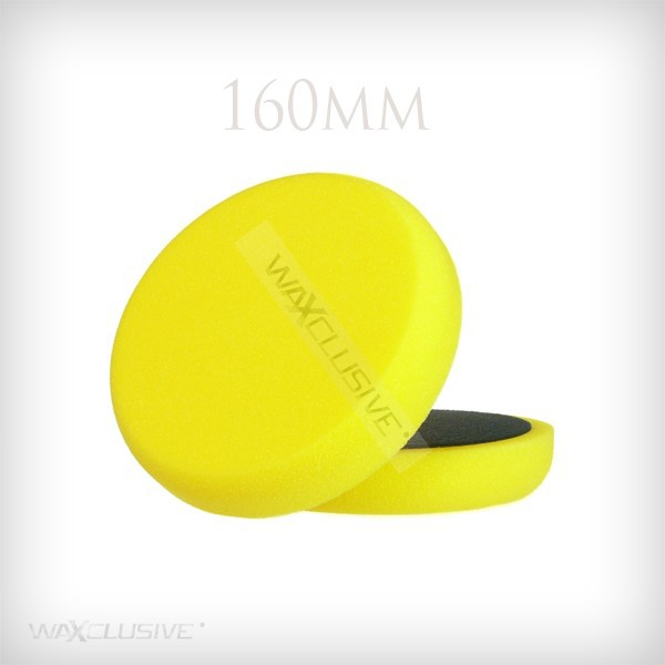 160mm Gąbka Polerska Żółta