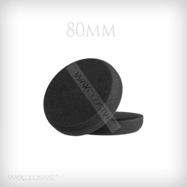 80mm Płaska Czarna