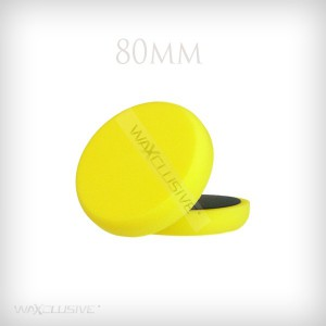 80mm Płaska Żółta