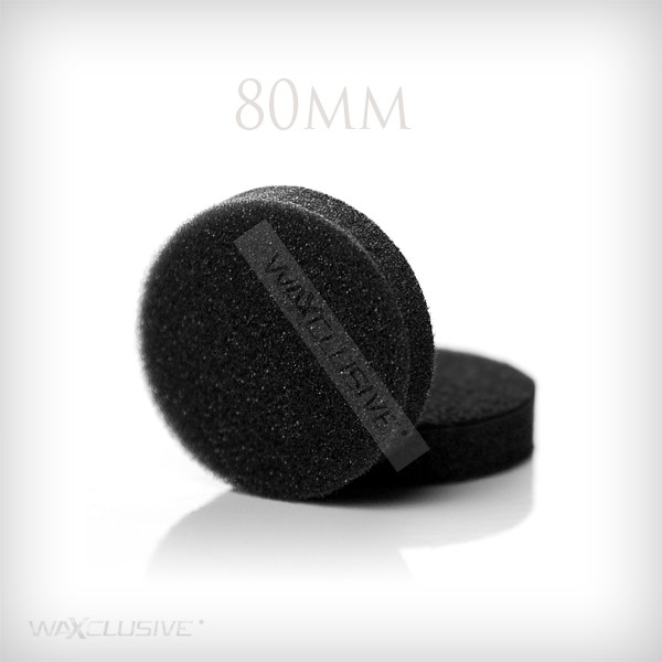 NAT 50mm gąbka polerska czarna