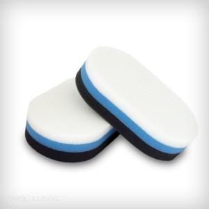 Aplikator TriColor Dwustronny Biało-Niebieski