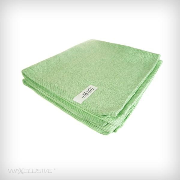 Sonus Ręcznik do polerowania (zielony) 2 sztuki