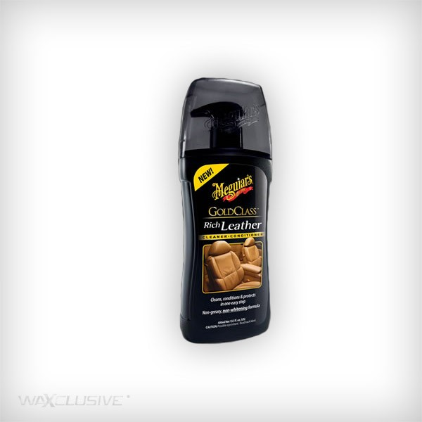 Meguiars Gold Class Rich Leather Cleaner & Conditioner 414ml