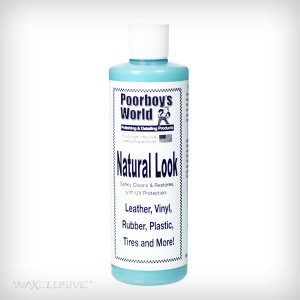 Poorboys Natural Look Dressing 473ml