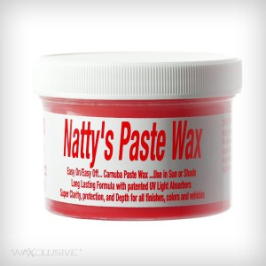 Poorboys Natty's Paste Wax Red 227g