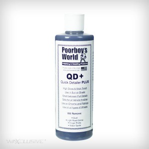 Poorboys Quick Detailer Plus QD+ 473ml