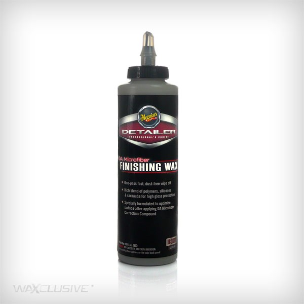 Meguiars DA Microfiber Finishing Wax 473ml
