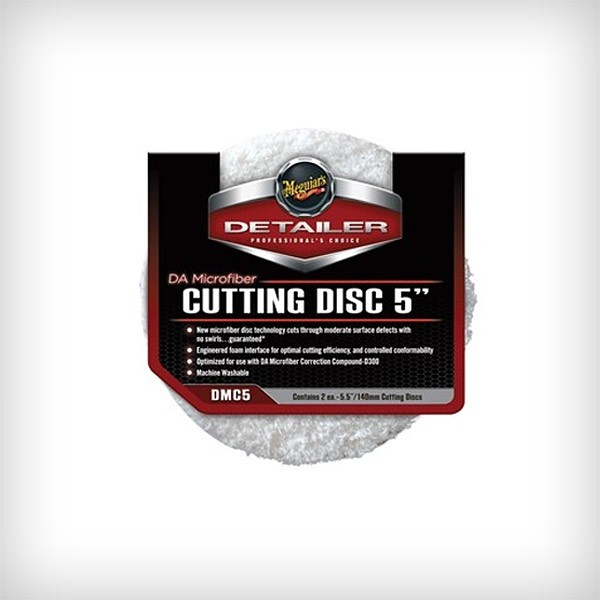 Meguiars 140mm DA Microfiber Cutting Disc (2 sztuki)