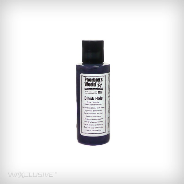 Poorboy's World Black Hole Show Glaze Tester 118ml