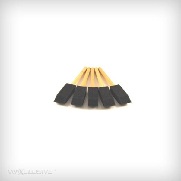 ValetPRO Soft Foam Detailing Brushes - 5 sztuk