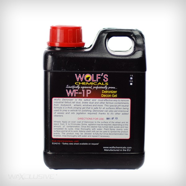 Wolf's Chemicals Deironizer Decon Gel 1l