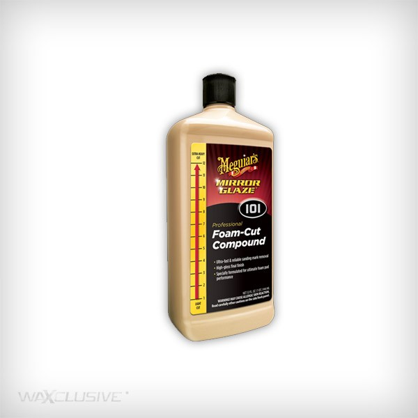 Meguiars M101 Foam Cut Compound 945ml