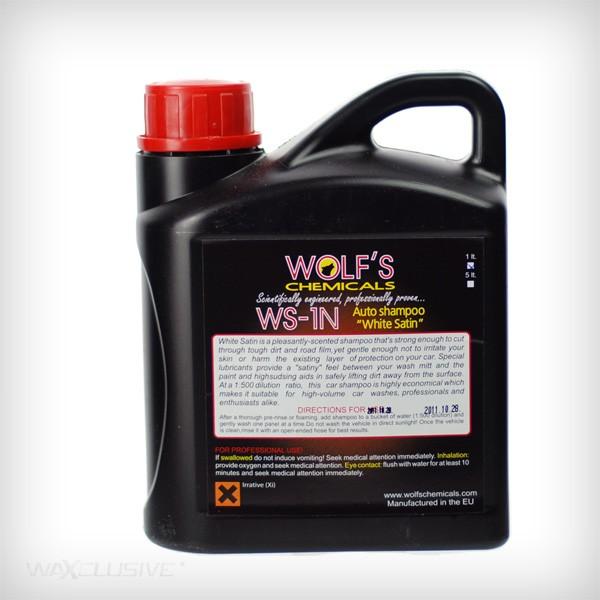 Wolf's Chemicals Auto Shampoo White Satin 1l
