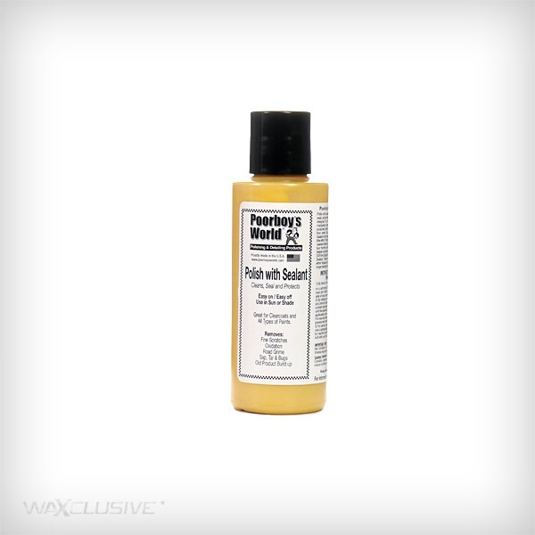 Poorboy's World Polish With Sealant Tester 118ml