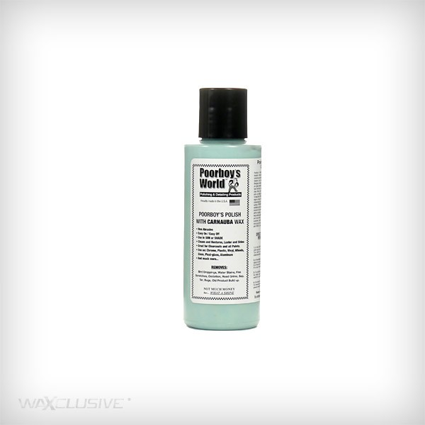 Poorboy's World Polish With Carnauba Wax Blue Tester 118ml