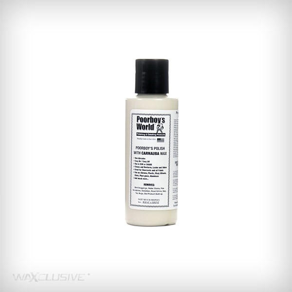 Poorboy's World Polish With Carnauba Wax Tester 118ml