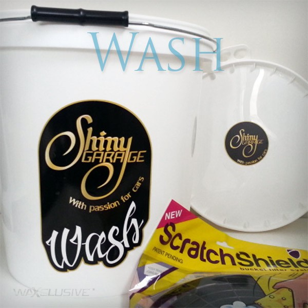 Shiny Garage Wiadro 15L Wash ScratchShield Pokrywa