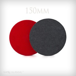 Flexipads 150mm Denim Aggresive Orange Peel Pad - jeansowy