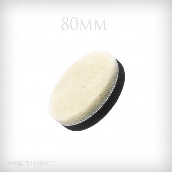 Flexipads 80mm PRO-Wool Detailing Velcro Spot Pad