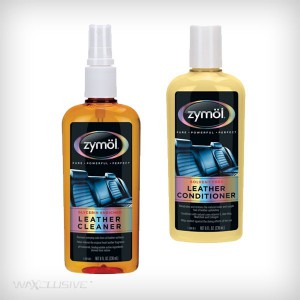 Zymol Leather Cleaner + Conditioner 2x236ml