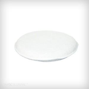 Applicator pad - biały, wełniany
