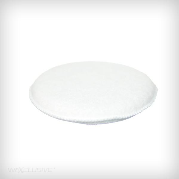 RaceGlaze Applicator pad - biały, wełniany