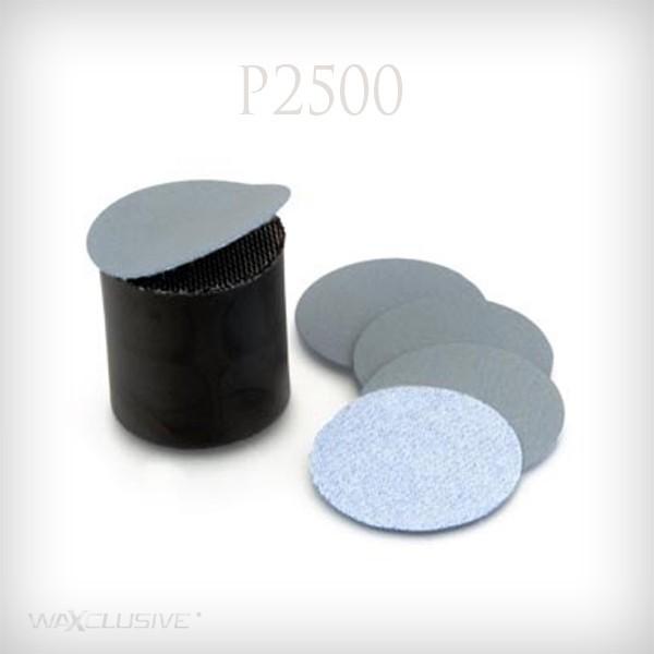 płatki do koreczka szlifierskiego P2500 na rzep / 10szt.