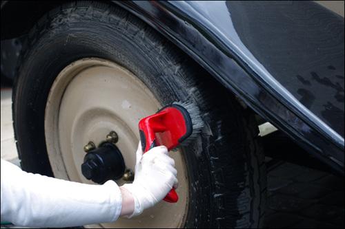 mothers tire brush szczotka do opon